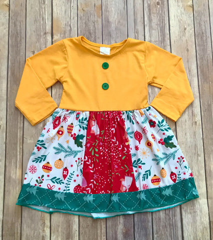 Holly Jolly Christmas Dress {Limited}