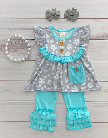 """Adalee"" Spring Boutique Outfit"
