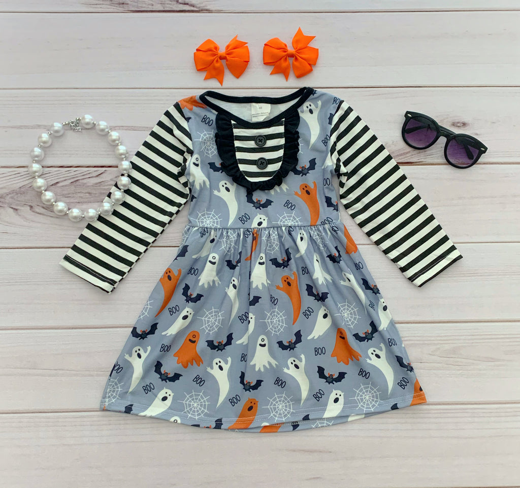 Ghost Halloween Boutique Dress