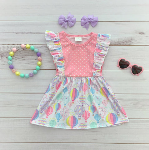 Hot Air Balloon Flutter Dress