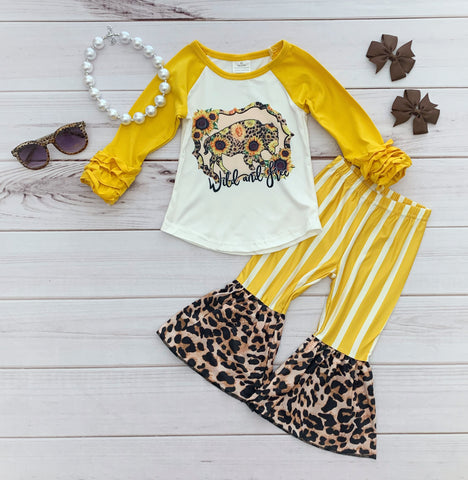 """Wild & Free"" Buffalo Bells Set"