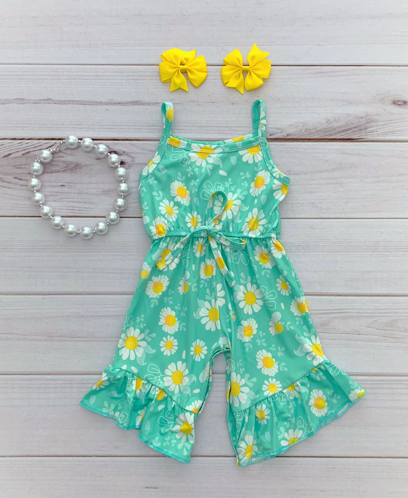 Daisy Mae Floral Romper
