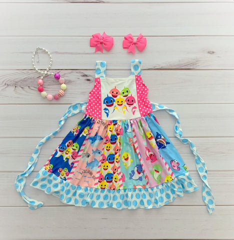 Baby Shark Twirl Dress {LIMITED EDITION}