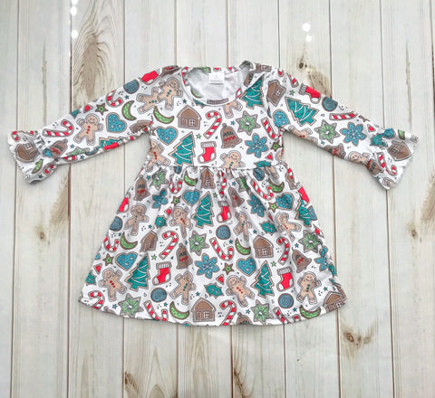 Christmas Cookie Boutique Dress