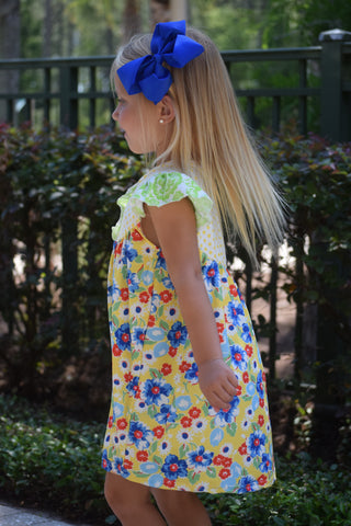"""Payton"" Floral Pearl Dress"