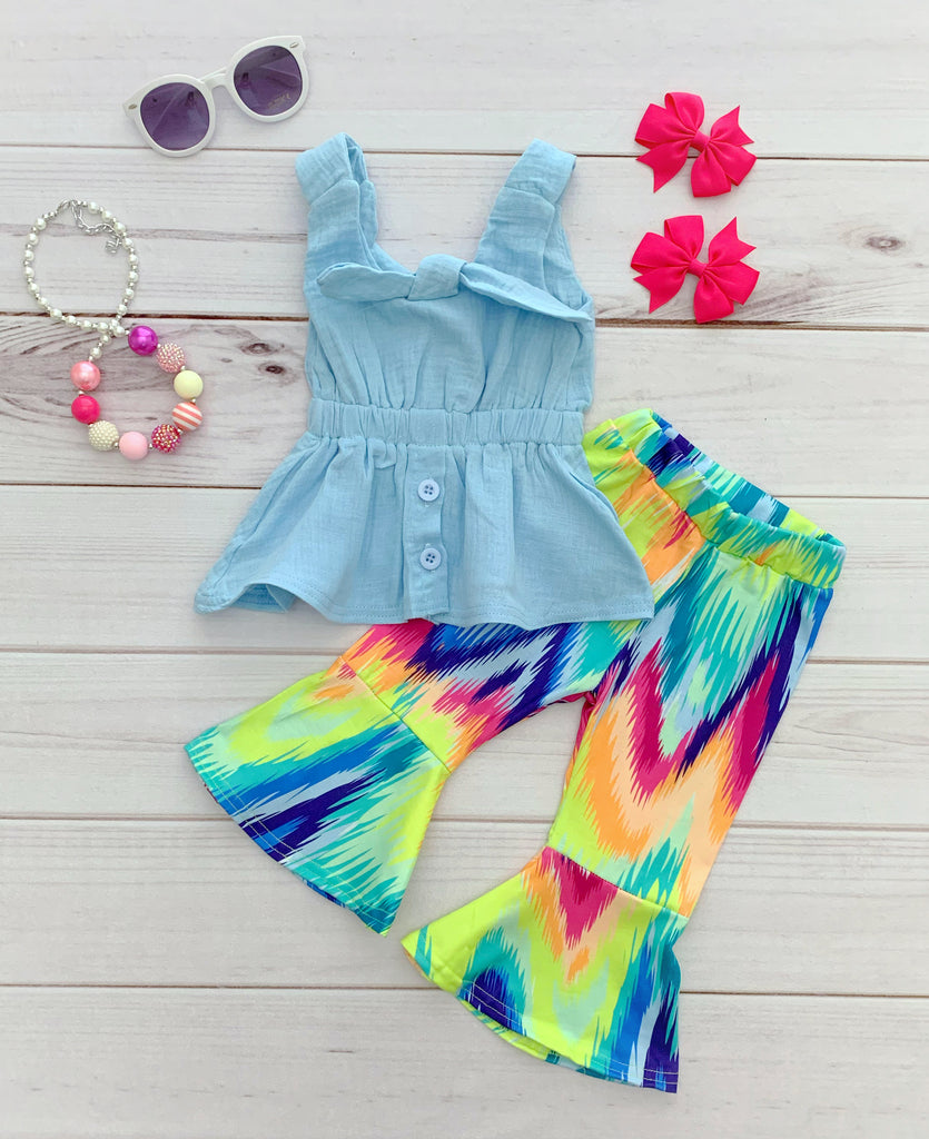 Tie-Dye Bell Bottom Outfit