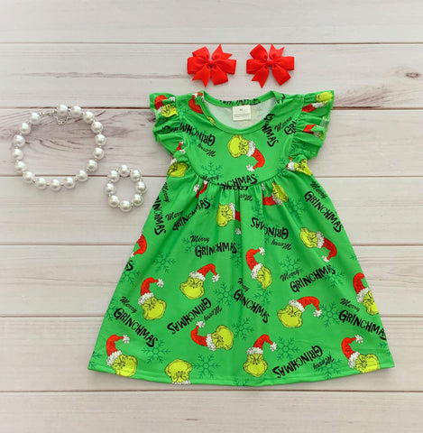Merry Grinchmas Pearl Dress