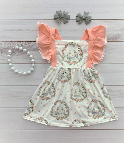 Little Lamb Easter Dress