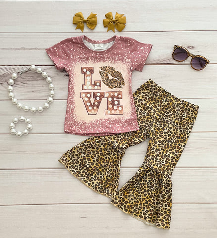 LOVE Leopard Bells Set - RESTOCKED!