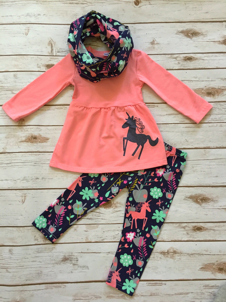 Unicorn 3-Piece Boutique Outfit cf84c82af