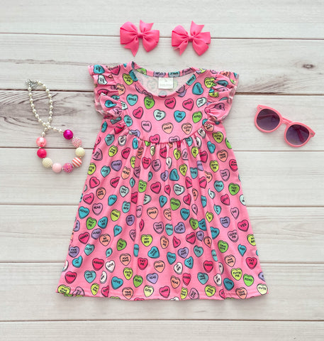 Conversation Hearts Pearl Dress