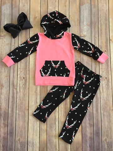 """Faith"" Hooded Top/Pant Set"