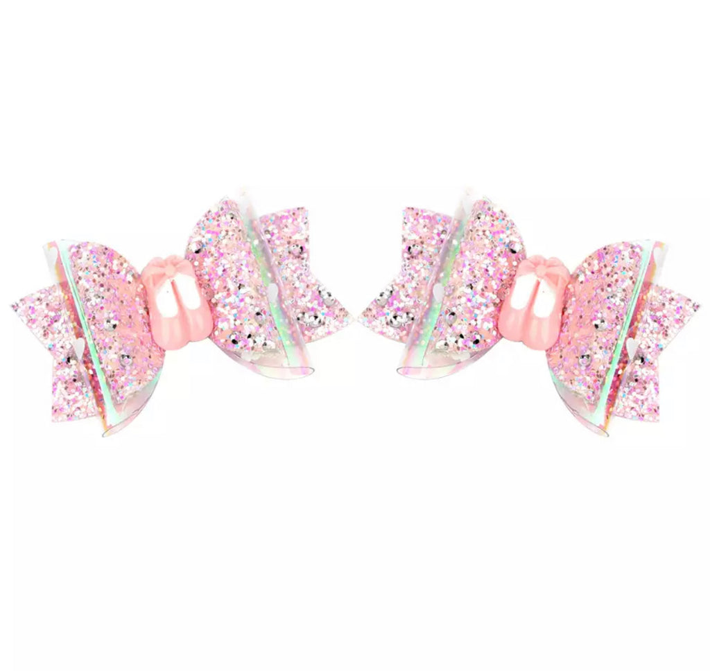Ballerina Piggies {Set of 2 bows}
