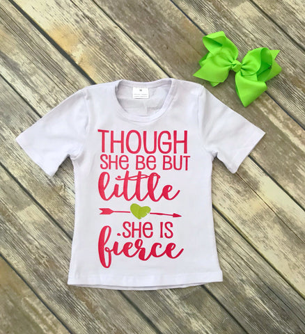 """She is Fierce"" Tee"