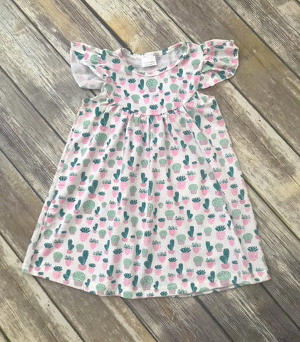 Sweet Succulents Pearl Dress