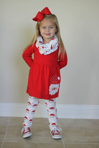Santa 3-Piece Boutique Outfit