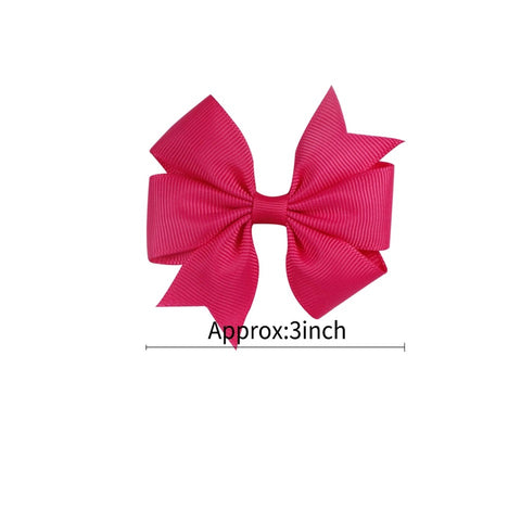 "Single 3"" Pinwheel Bows"