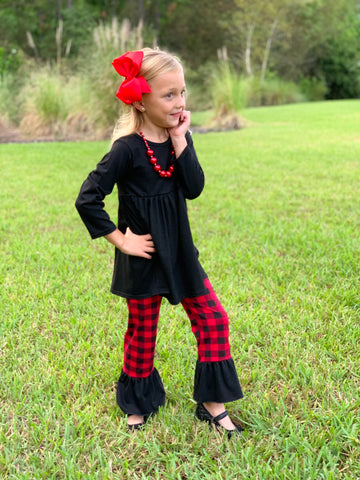 Perfectly Plaid Boutique Outfit