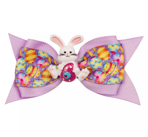 "Easter Bunny Bow - 3"" {many colors}"
