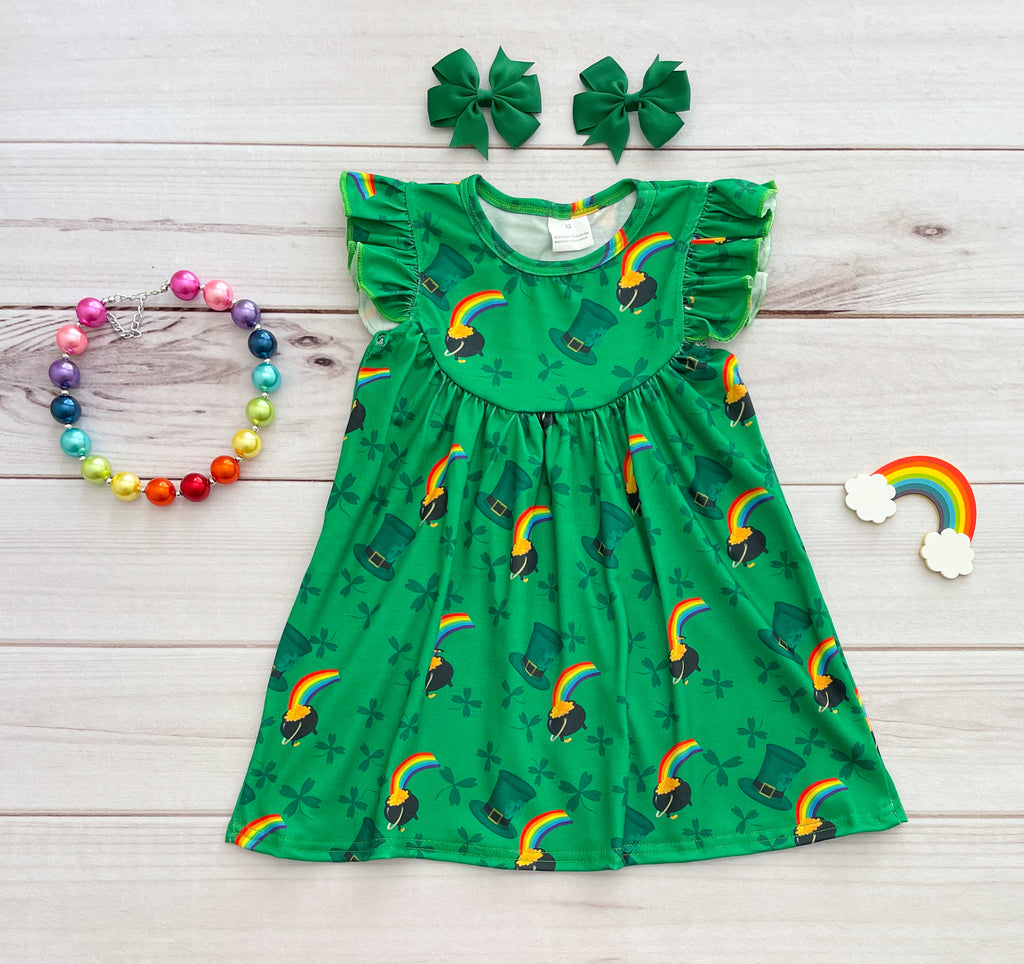 Pot of Gold Pearl Dress