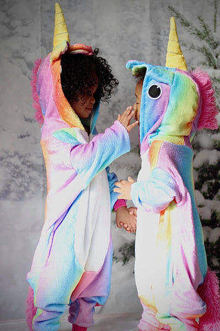 Hooded Unicorn Pajama {Runs Big}