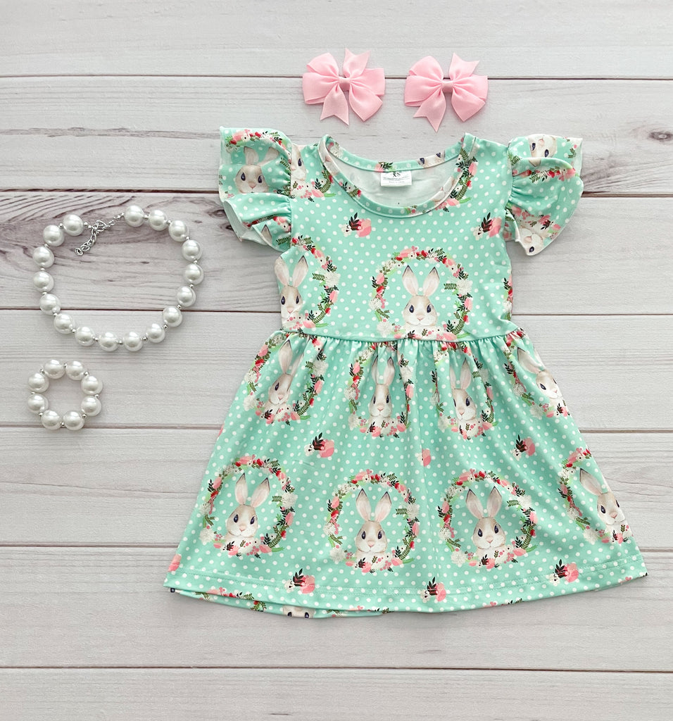 Floral Bunny Boutique Dress