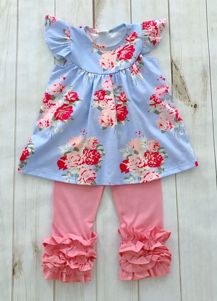 """Anna Grace"" Floral Boutique Outfit {LIMITED EDITION}"