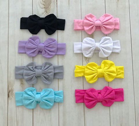 Knotted Bow Headband {8 COLORS}