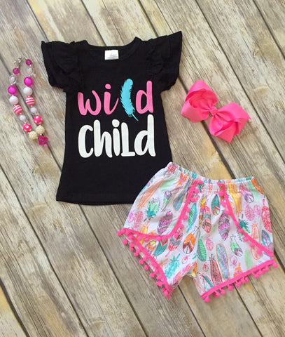 Wild Child Short Set