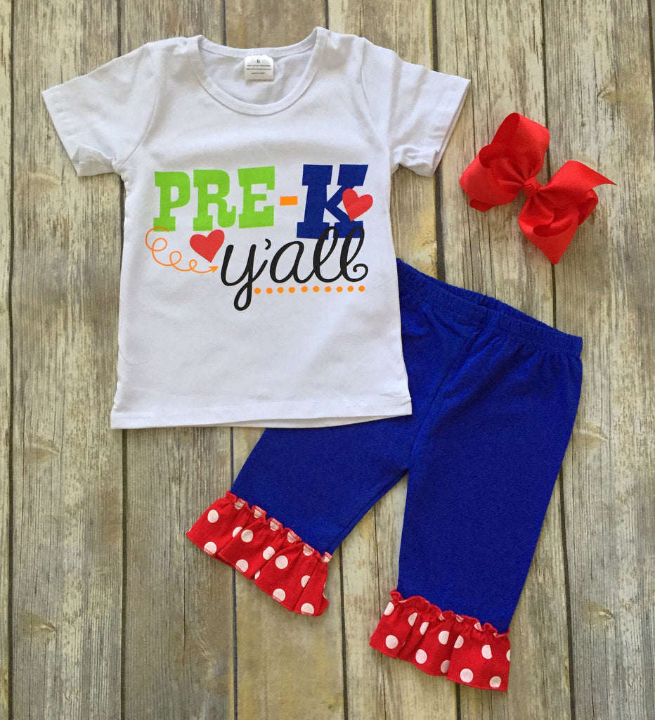 Sale Back To School Outfit Girls Boutique Clothing Rylee Faith