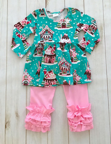 Gingerbread Christmas Boutique Outfit {LIMITED EDITION}