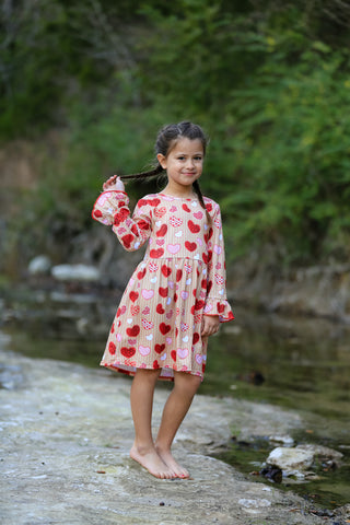 Cupid's Sweetheart Valentine's Boutique Dress