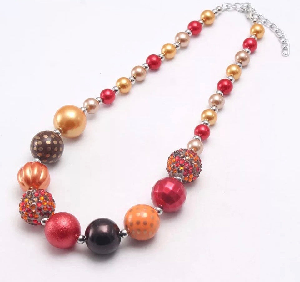 Autumn Bliss Chunky Necklace