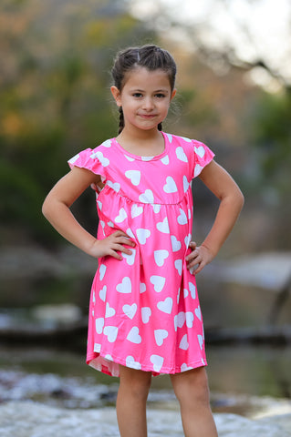 """Simply Sweet"" Valentine's Pearl Dress"