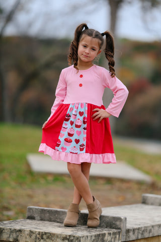 Valentine's Cupcake Boutique Dress