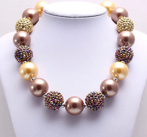 Fall Sparkle Chunky Necklace