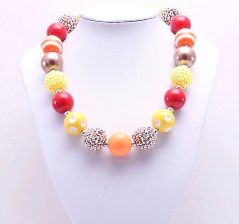 Turkey Day Chunky Necklace {LIMITED EDITION}