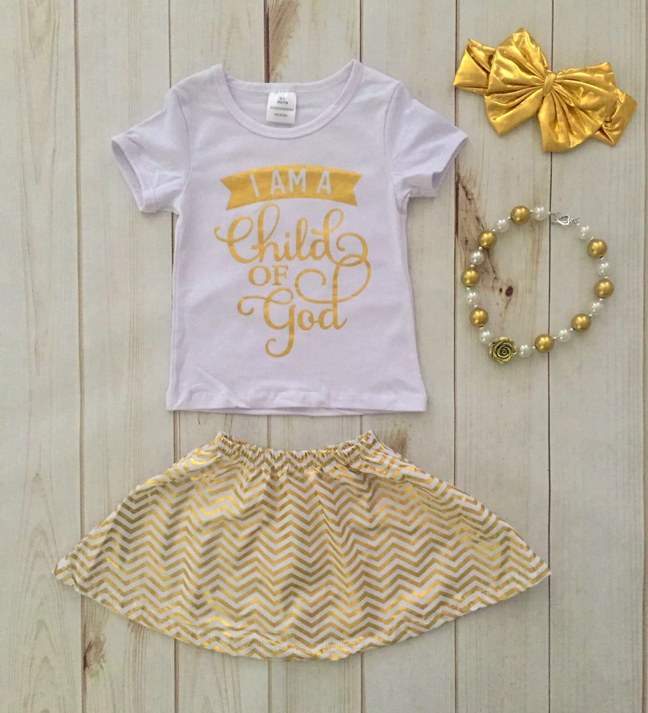 """Child of God"" Skirt Set"