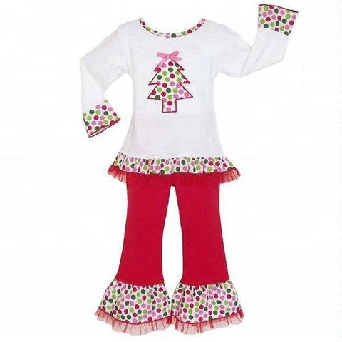 """Merry & Bright"" Christmas Boutique Outfit {Limited}"
