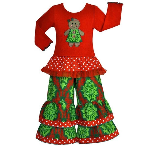 """Ginger"" Christmas Boutique Outfit {Limited}"