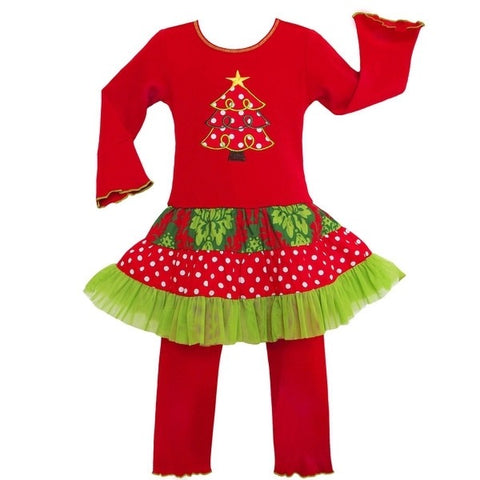 """Rockin' around the Christmas Tree"" Boutique Outfit {Limited}"
