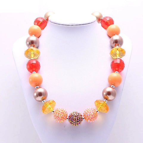 Fabulously Fall Chunky Necklace {Limited}