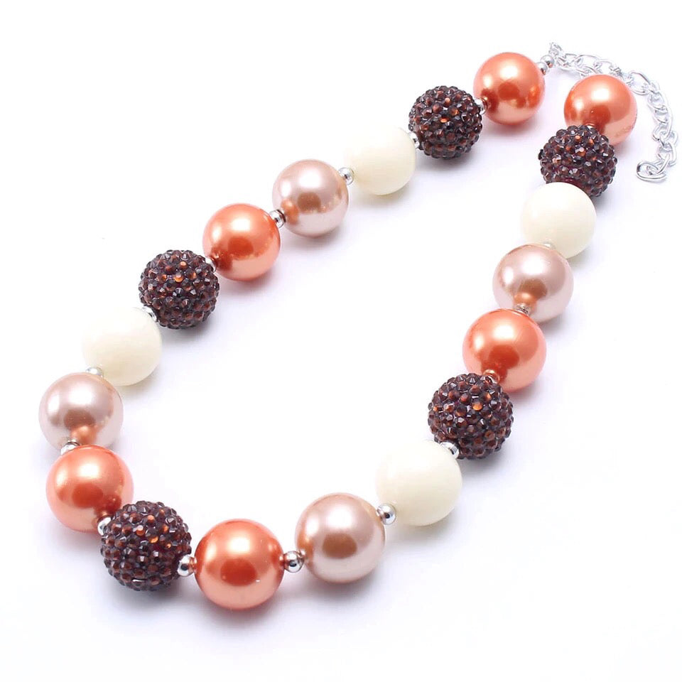 Pumpkin Spice Chunky Necklace {LIMITED EDITION}