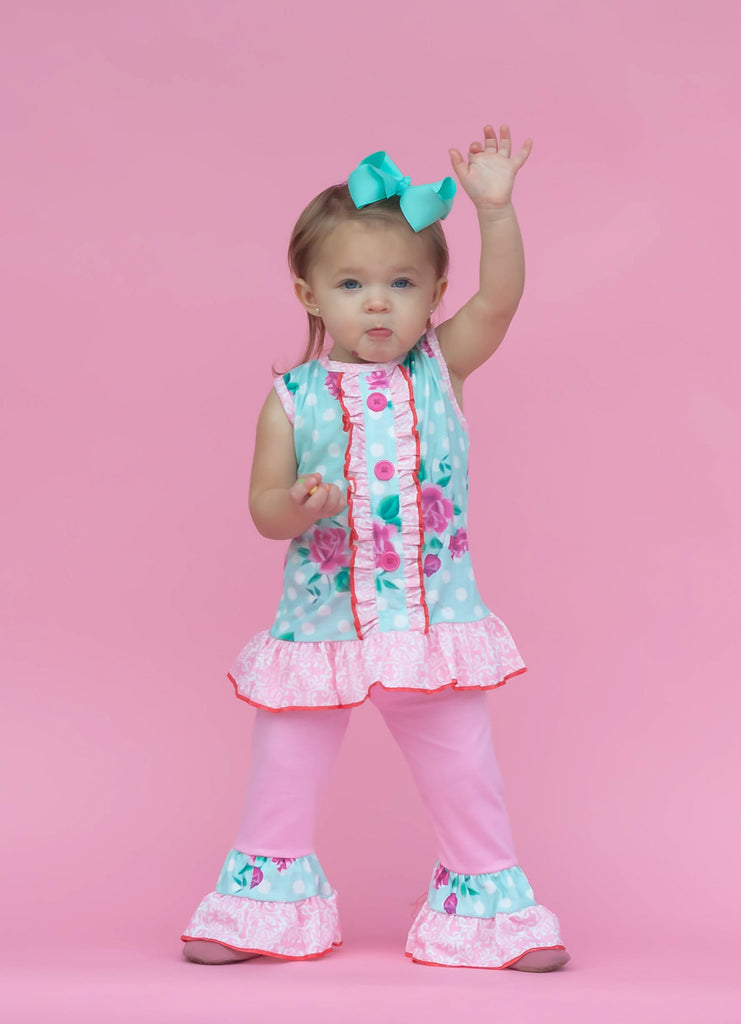 """Kennedy"" Floral Boutique Outfit {LIMITED}"