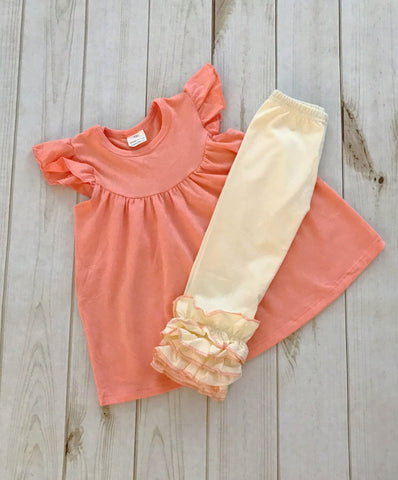 """Peaches N Cream"" Boutique Outfit {LIMITED EDITION}"
