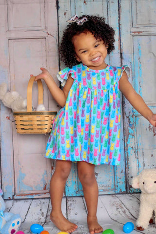 Easter Peeps Pearl Dress