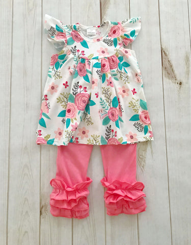 """Madeline"" Floral Boutique Outfit {LIMITED EDITION}"