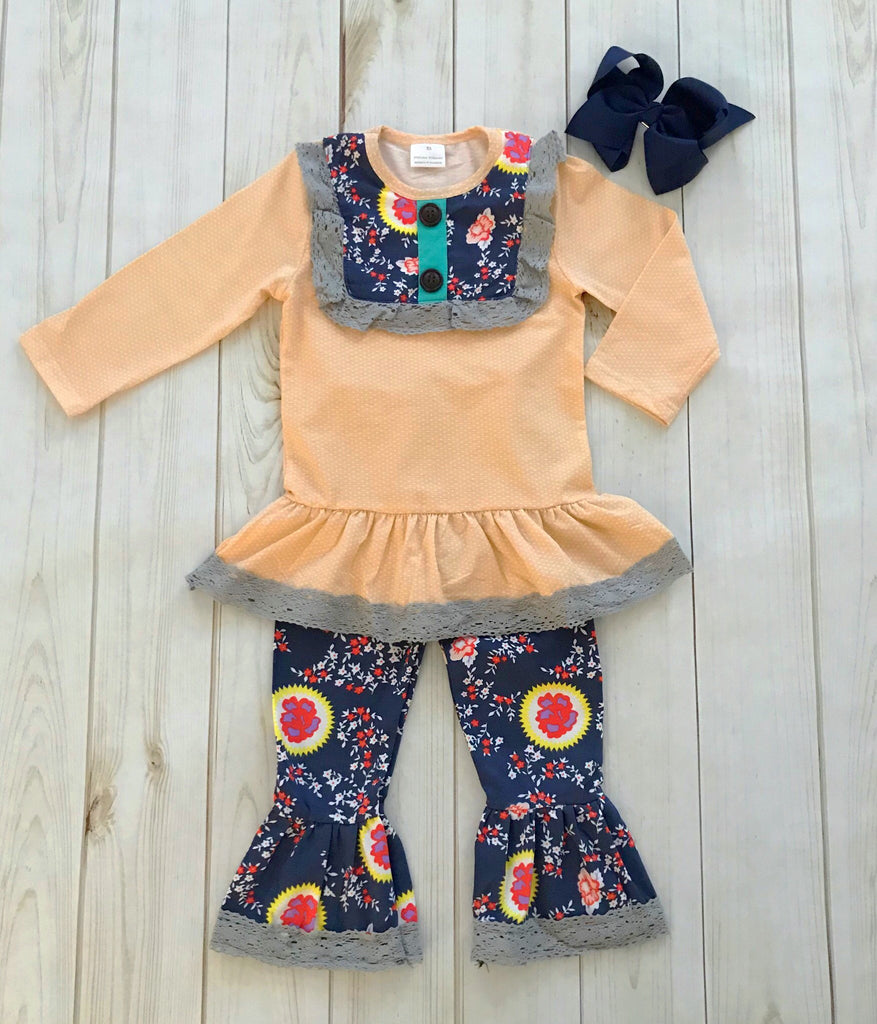 """Berkley"" Floral Boutique Outfit {LIMITED EDITION}"
