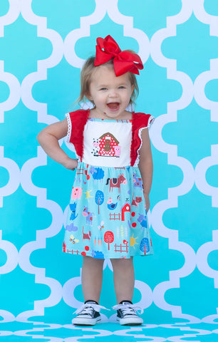 Farm Friends Boutique Dress