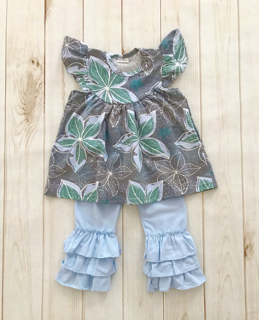 """Bailey Rose"" Floral Boutique Outfit {LIMITED EDITION}"